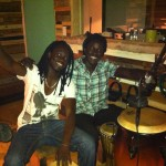 Ousmane and Seydou came in to add some percussion grooves